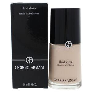 Giorgio Armani I0100970 Fluid Sheer - 07 Pale Shimmering Rose for Women