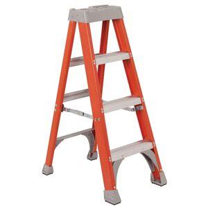 Vestil Manufacturing FBSL-4 4 ft. Fiberglass Step Ladder