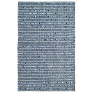 Dynamic Rugs OK248373501 Oak 2 x 4 ft. Modern Cotton & Wool Area Rug - Blue & Ivory