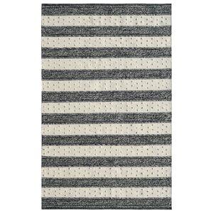 Dynamic Rugs OK8108375199 Oak 8 x 10 ft. Modern Cotton & Wool Area Rug - Ivory & Charco