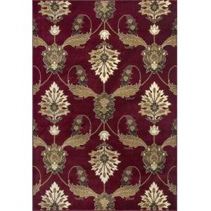 HomeRoots 350456 9 ft. 10 in. x 13 ft. 2 in. Polypropylene Red Area Rug