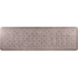 Feherguard Products, LTD. Smart Step Select HC6FV4WBRN Moroccan Premium Comfort Mat, 66 x 20 in. - Latte