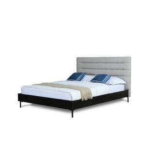 Manhattan Comfort BD004-FL-LG Schwamm Full Size Bed, Light Grey - 43.9 x 60.6 x 80.6 in.