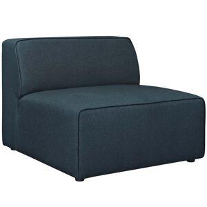 Modway Furniture Modway EEI-2724-BLU 27 H x 34.5 W x 37 D in. Mingle Fabric Armless, Blue