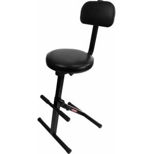 Ultimate Support JSMPF100 Jam Stands Series Music Performance Chair, Black
