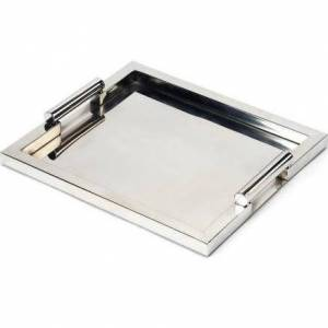 Butler Specialty Company. Butler Specialty 3827016 Rectangle Morante Stainless Steel Rectangular Serving Tray