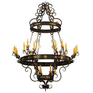Meyda Tiffany 156931 72 in. Santino 24 Light Chandelier
