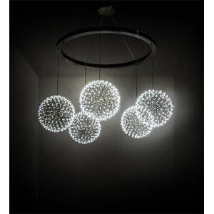 Meyda Tiffany 219816 131 in. Wide Geosphere 5 Light Chandelier
