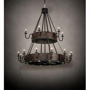 Meyda 227743 74 in. Wide Costello 18 Light Two Tier Chandel-Air Light