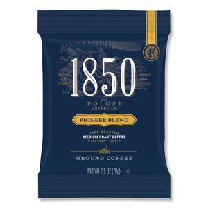The J.M. Smucker FOL21511 2.5 oz 1850 Medium Pioneer Blend Coffee Bright