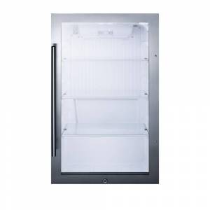 Summit Appliance SPR489OS Shallow Depth Indoor & Outdoor Beverage Cooler