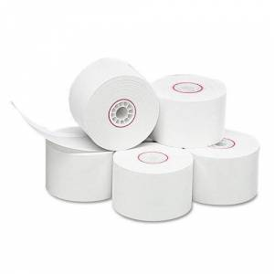 Iconex 90783045 1.75 in. x 150 ft. Single Ply Thermal Cash Register & POS Rolls, White - 10 per Pack