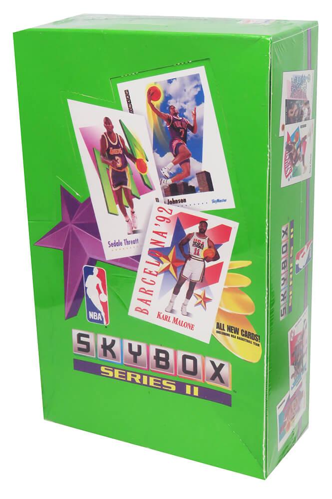 Schwartz Sports Memorabilia BX291SWF2 1991-1992 Skybox Series 2 Basketball Factory Sealed Unopened Box - Pack of 36