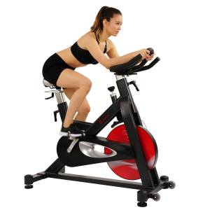 Sunny Health & Fitness SF-B1714 Evolution Pro Magnetic Belt Drive Indoor Cycling Bike