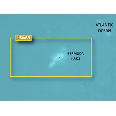 Garmin GA-010C102420 G3 MicroSD & SD Card with HXUS048R Bermuda BlueChart