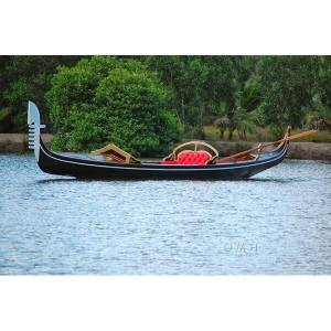 Old Modern Handicrafts K151 36 ft. Venetian Gondola Real Boat