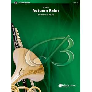 Alfred 00-46620 Autumn Rains Composed by Patrick Roszell