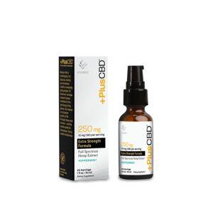 PlusCBD™ Extra Strength CBD Tincture Oil - Peppermint (Gold Formula)