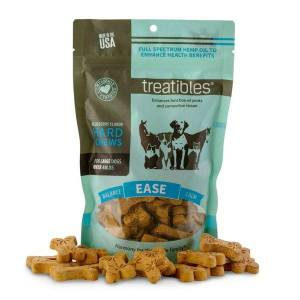 Treatibles® Large Blueberry Grain Free Hard Chews 4mg - Ease