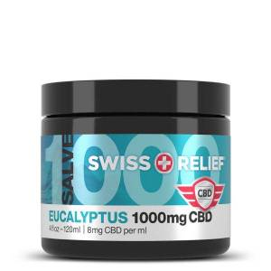 Swiss Relief CBD Salve Eucalyptus