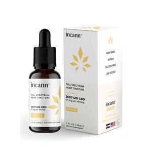Incann Full Spectrum CBD Tincture Vanilla