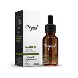 Original Hemp Natural Tincture