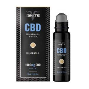 Ignite CBD Essential Oil Roll-on - Lucid - Unscented 1000mg