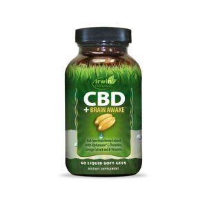 Irwin Naturals CBD Soft-Gels +Brain Awake® 60 Count