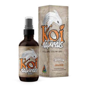 Koi Naturals Full Spectrum CBD Oil 60ml Spray - Orange
