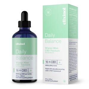 Elixinol CBD Hemp Oil Drops Daily Balance - Winter Mint