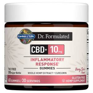 Dr. Formulated CBD + Inflammatory Response Gummies - Berry Spice 10mg 60 Count