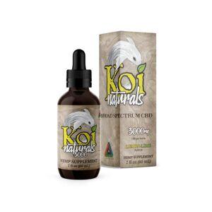 Koi Naturals Broad Spectrum CBD Oil - Lemon Lime