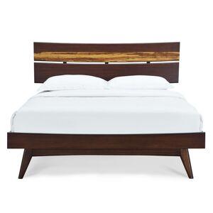 "Greenington Azara King Platform Bed by Greenington / Sable / 5"" h x 88"" w x 81"" d"