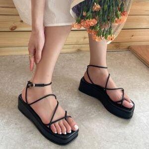 Anran Platform Strappy Sandals