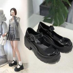 Bolitin Platform Mary Jane Shoes