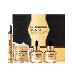 DR.PHAMOR - McCELL SKIN SCIENCE 365 Syn-Ake Gold Special Edition: Cream 50ml + Eye Serum 15ml + Ampoule 30ml x 2 4 pcs