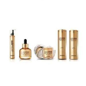 DR.PHAMOR - McCELL SKIN SCIENCE 365 Syn-Ake Gold Special Limited Edition: Toner 120ml + Eye Serum 15ml + Ampoule 30ml + Emulsion 120ml + Cream50ml 5 pcs