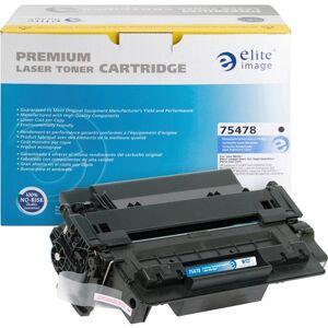 Elite Image Remanufactured Toner Cartridge - Alternative for HP 55A (CE255A)