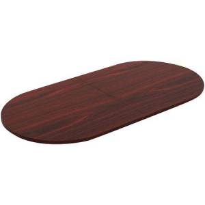 Wholesale Furniture Collection: Discounts on Lorell Chateau Series Mahogany 8' Oval Conference Tabletop LLR34342