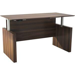 "Safco Medina Height-Adjustable 63"" Straight Front Desk"
