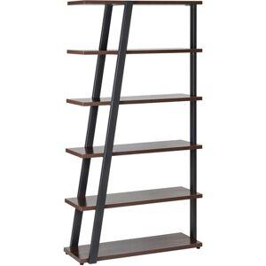 Safco Mirella 5-Shelf Bookshelf