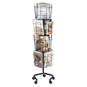 Safco Rotary Literature Display Rack
