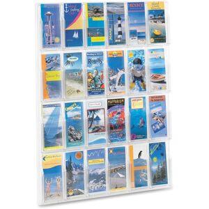 Safco 24-Pamphlet Display Rack