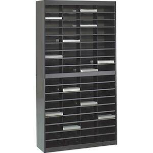 Safco 72-Compartment Literature Organizer