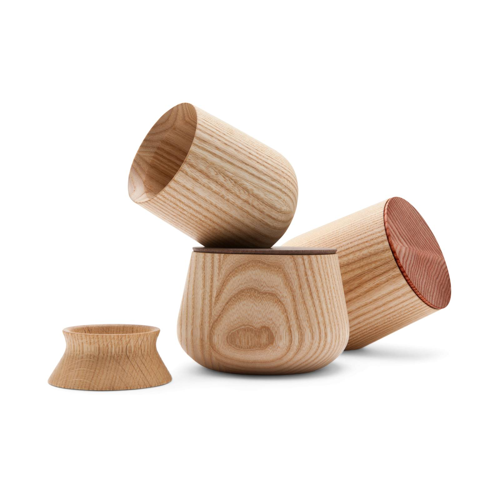 Pinch, Spice Jar with Wooden Lid
