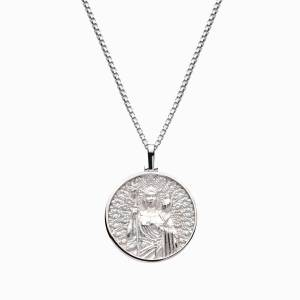 AweInspired Solid 14k White Gold Hera Necklace