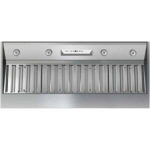 """Zephyr AK9346AS 48"""" Essentials Power Series Monsoon II One Piece Liner with 1200 CFM Internal Blower  6 Speed Levels  Stainless Steel Pro Baffle Filters"""