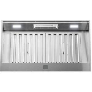 """Zephyr AK9440BS 42"""" Core Series Monsoon Connect Range Hood Insert with 700 CFM  Zephyr Connect App  Pro Baffle Filters and Airflow Control Technology in"""