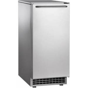 """Scotsman CU50PA 14.875"""" Air Cooled Undercounter Gourmet Cube Ice Machine with Built-In"""
