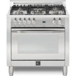 """Lofra CXSS36M0-G500 Curva 36"""" Dual Fuel Freestanding Range with Traditional Baking  Dehydration  Defrosting  True European Convection  Rapid Cooking"""